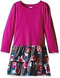 Gymboree Little Girls' Toddler Double-Ruffle Long-Sleeve Dress, Berry - Best Reviews Guide