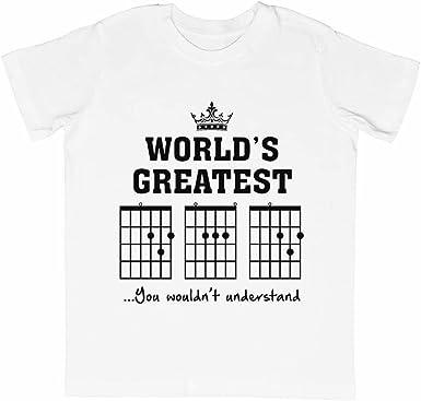 F Acorde Papá Gracioso Guitarra tee- Único Padres Día Regalo ...