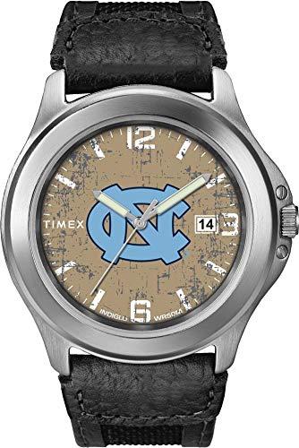 Timex Men's North Carolina Tarheels UNC Watch Old School Vintage - Ncaa Watch Black