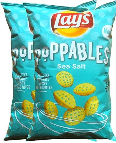 Lays Poppables Sea Salt Perfectly Poppable Crispy Potato Bites Net Wt 5 Oz (2)