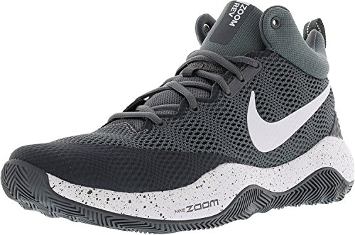 Basketball Cool Men's Rev 2017 NIKE White Grey Zoom Dark Grey Shoe pI7Hwq