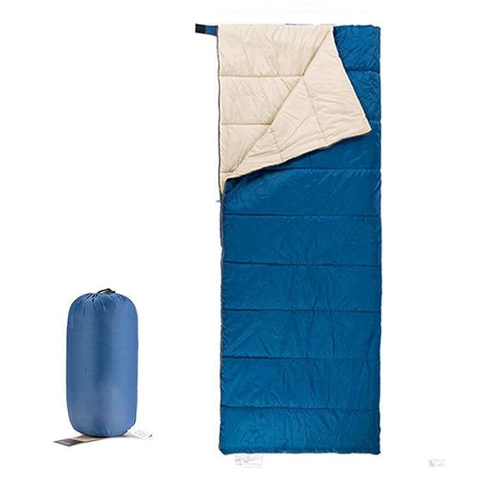HM&DX Verano Saco de Dormir Rectangular Adultos Clima Cálido Ultraligero Compacto Saco de Compresión Camping Hiker mochilero Viajar Actividades al Aire ...