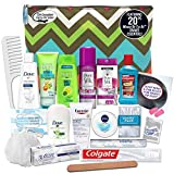 Convenience Kits Women's Premium 20-Piece Necessities Travel Kit, Featuring: Fructis Hair Products