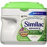 Similac Advance Organic Powder, 1.45 Pounds