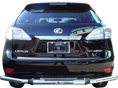 VANGUARD VGRBG-0181SS 2010-2015 Lexus RX RX350 RX450H Rear Bumper Guard Single Tube Pintle S/S