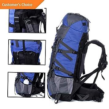 ffa49152b339 Amazon.com | Kaputar 80L+20 Waterproof Outdoor Camping Travel Hiking ...