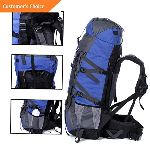 461 Model BCKPCK Kaputar 80L+20 Waterproof Outdoor Camping Travel Hiking Bag Internal Frame Backpack Pack