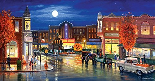 Halloween in the City 500 Piece Jigsaw Puzzle by SunsOut