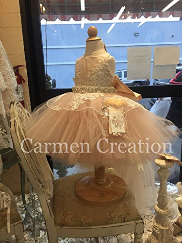 Mini Bride Tutu Dress by Carmen Creation