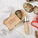 Two's Company Wooden Block with Shuck