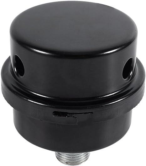 "16mm Air Compressor Metal Intake Filter Oil-Free 3//8"" Noise Muffler Silencer"