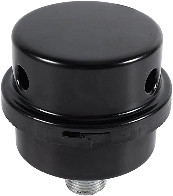 Metal Air Compressor Intake Filter Sound Muffler Silencer 20mm Thread Walfront Air Compressor Silencer Filter