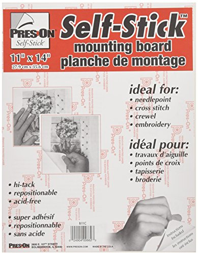 PRES ON Pres-On Mounting Board, 11 by 14-Inch