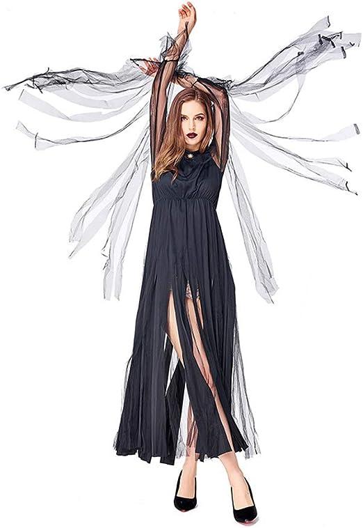 KLJJQAQ Disfraz de Bruja Malvada del Carnaval mágico de Halloween ...