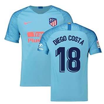 Amazon.com: Camiseta de fútbol Atlético Madrid Away Nike ...