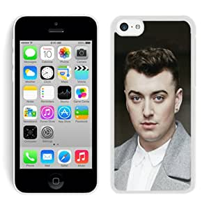 iPhone 5C Case,Sam Smith For iPhone 5C White Case Cover