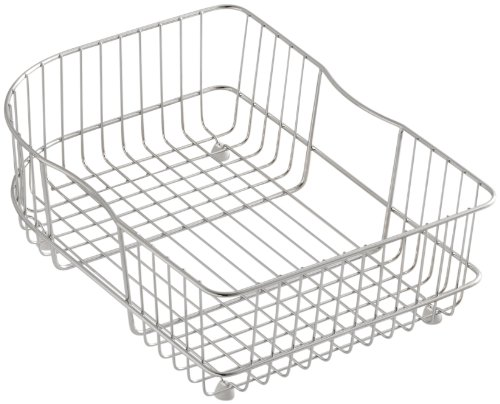 (KOHLER K-6521-ST Wire Rinse Basket, Stainless Steel)