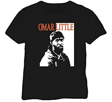 BrooklynSteez Men\'s The Wire Omar Little The King T Shirt at ...