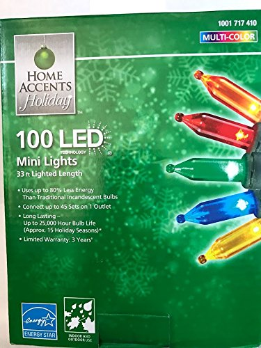 Home Accents Holiday 100 Light Multi Color product image