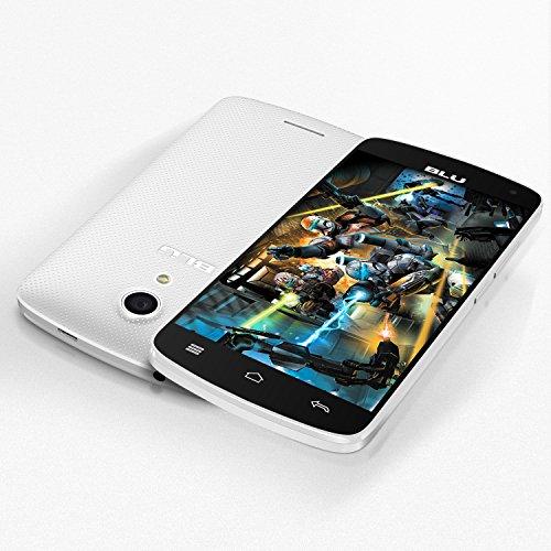 BLU Studio X8 HD - 5.0'' GSM Unlocked Smartphone -White by BLU (Image #5)
