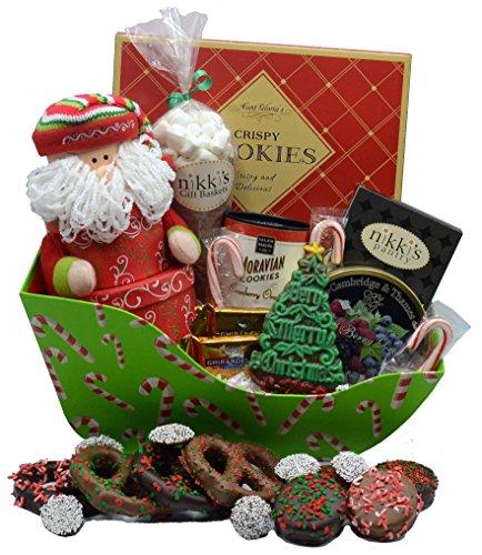 Santa's Sled of Sweet Delights | Christmas Gift Basket Handmade Sweets