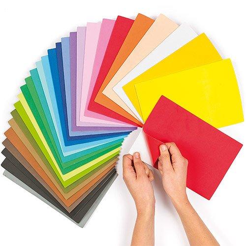 24 opinioni per Fogli colorati in gommapiuma autoadesiva (confezione risparmio da 20)