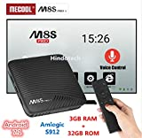 #4: 3GB RAM 32GB ROM Mecool M8S PRO L Voice Control Function TV Box 4K TV Box Android 7.1 Amlogic S912 Set Top Box 4K Media Player