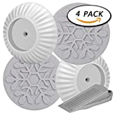 #2: 4 Pack Wall Guard Pads for Safety Pressure Mount Gate by Paxcoo