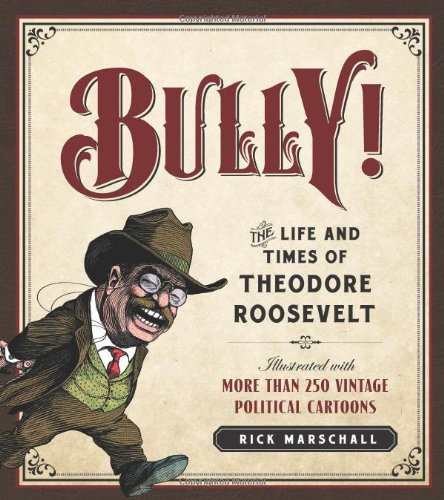 Bully Theodore Roosevelt Illustrated Political product image
