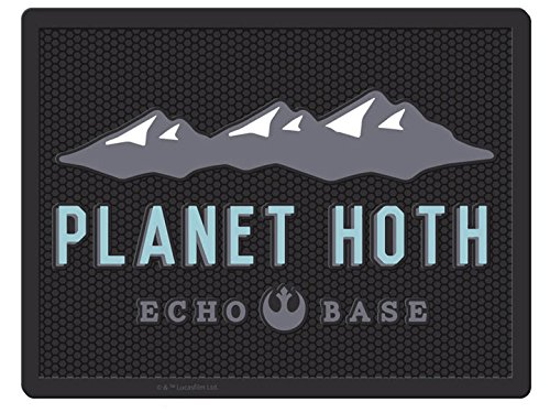 Star Wars Utility Mat Planet Hoth Echo Base (製造元:Plasticolor) [並行輸入品] B07BGCWFSW