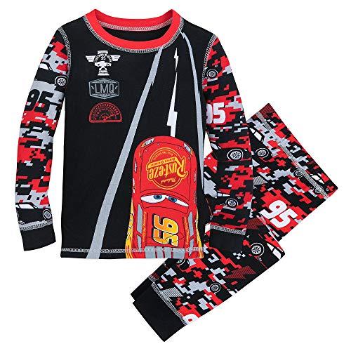 Disney Lightning McQueen PJ PALS for Boys Size 6 Multi