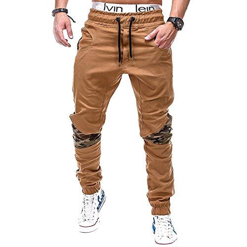 Couture 2xl Couleur Et Hommes Pied Hiver Casual Coton Khaki De Pantalons Automne Nouveaux Omuutr Mode Camouflage Pure Slim 6qwPPTx