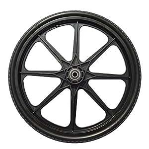 Amazon Com Sherpa 20 X 2 125 Flat Free Wheel For