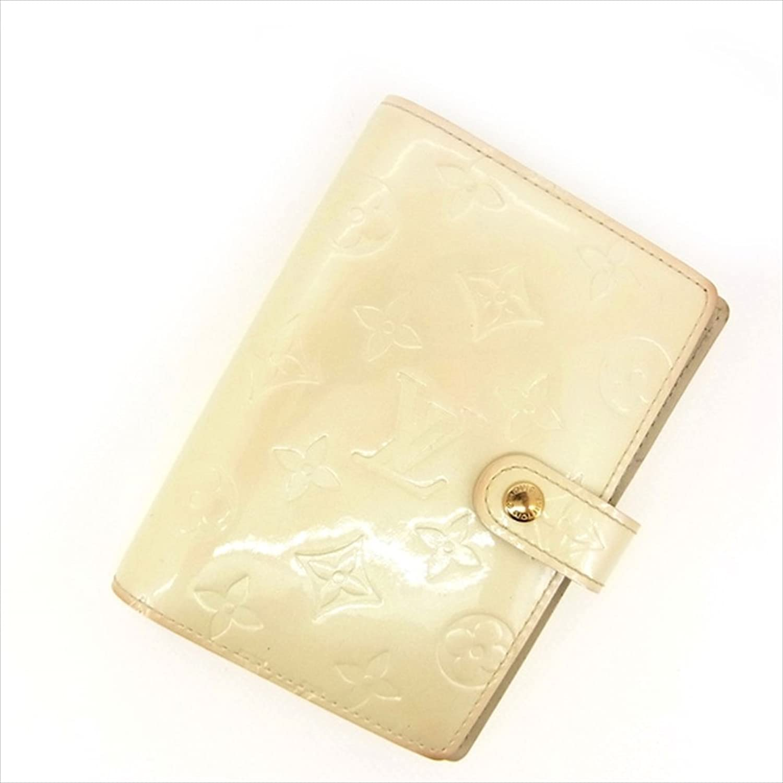 [ルイヴィトン] Louis Vuitton 手帳カバー カード入れ×3 メンズ可 アジェンダPM R21010 ヴェルニ 中古 Y485 B0772T3JG5
