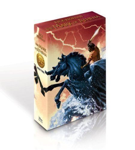 By Rick Riordan:The Mark Of Athena Signed, Deluxe
