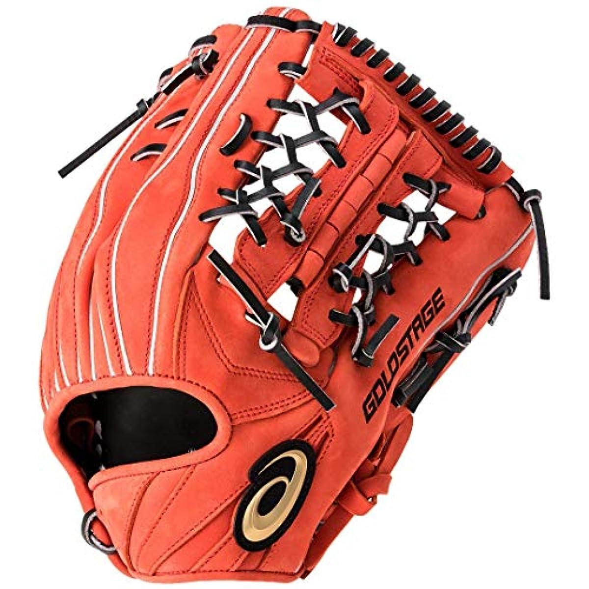 [해외] 아식스ASICS 연식 야구 글러브 외야수용세로 고등학교 야구 대응 GOLD STAGE SPEED AXEL 골드 스테이지 스피드 악셀 사이즈12 3121A329
