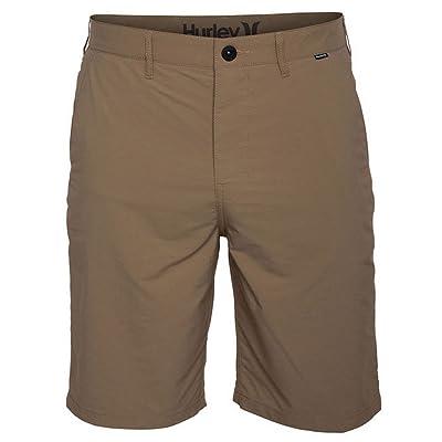 Hurley Men's Dri-Fit Chino Walkshort Cardboard Khaki Shorts at Amazon Men's Clothing store