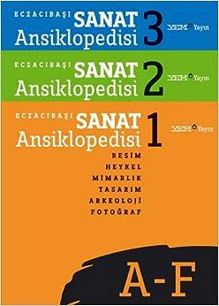 Book Eczacıbaşı Sanat Ansiklopedisi (3 Cilt Takım)