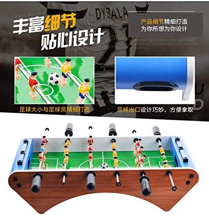 RUIXFFT Mesa de futbolín, futbolín de Mesa para niños de 50 x 25 x 12,5 cm para Regalo de cumpleaños de Adultos Adolescentes, A: Amazon.es: Deportes y aire libre