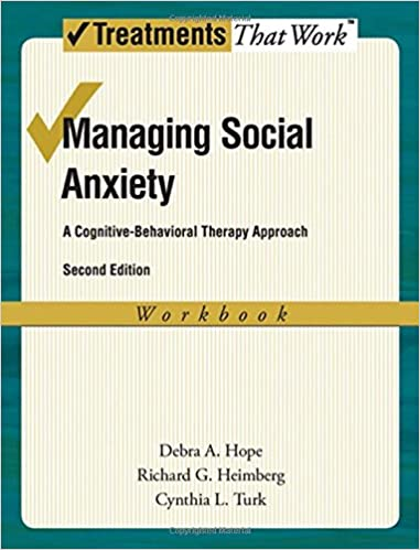 Amazon.com: Managing Social Anxiety: A Cognitive-Behavioral ...