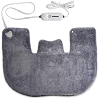 Neck and Shoulder Heating Pad with Heat for Pure Pain Relief, Tension Relieving Heat Therapy Pad with Fast-Heating Technology and Auto Shut Off Function