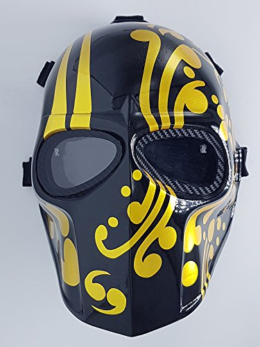 Airsoft Full Face Mask Army of two Cosplay Halloween mask Paintball JP Ghost Masks ()