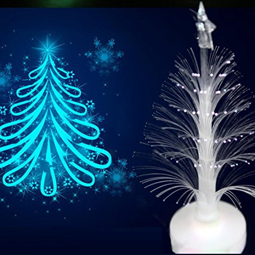 Colorful Decoration Light, G-real 1pc Christmas Xmas Tree Color Changing LED Light Lamp Home Decoration (Real Xmas Trees)