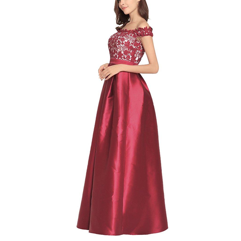 Vestido De Noche De Dama Vestido De Dama De Honor Largo Vestido De ...