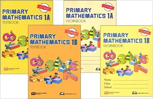 Singapore Primary Mathematics Level 1 Kit (US Edition), Workbooks ...