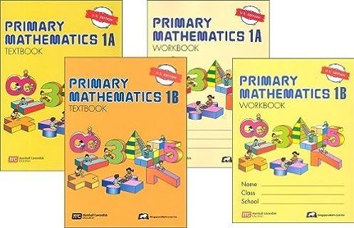 math worksheet : singapore primary mathematics level 1 kit us edition workbooks  : Singapore Math Workbook