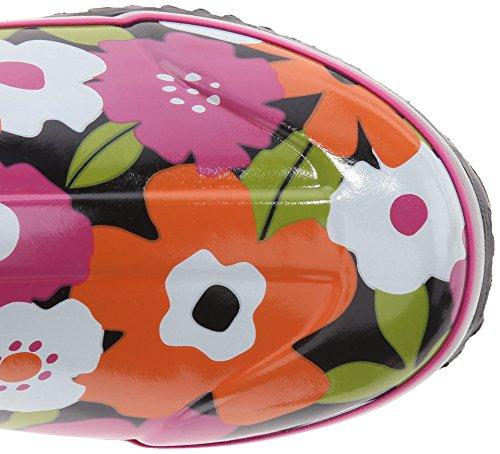 Moerassen Dames Regenlaars Lente Bloemen Regenlaars Zwart / Multi