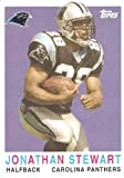 2008 Topps Turn Back the Clock #18 Jonathan Stewart - Carolina Panthers (RC - Rookie Card) (Football Cards) Mint Condition - In Protective Display Case!