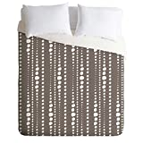 Deny Designs  Heather Dutton Bestrewn Stone Duvet Cover, Twin/Twin XL