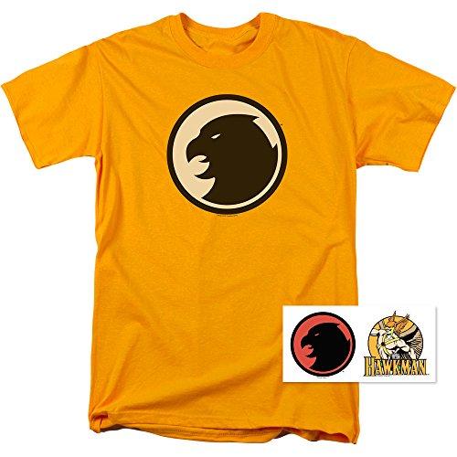 Hawkman DC Comics T Shirt & Exclusive Stickers (XX-Large)